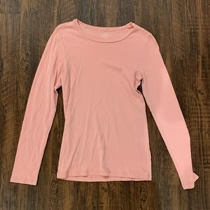 J Crew | Pink Perfect Fit Long Sleeve Top 💗✨
